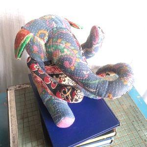 Kantha Quilt Elephant